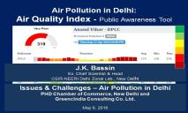 Air Pollution in Delhi PowerPoint Presentation