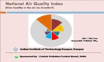 National Air Quality Index PowerPoint Presentation
