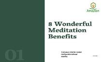 Top Meditation Benefits PowerPoint Presentation