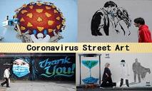 Coronavirus Street Art PowerPoint Presentation