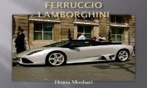 Ferruccio Lamborghini PowerPoint Presentation