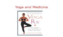 Yoga and Meditations PowerPoint Presentation