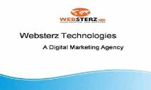 Websterz Technologies-Best Seo and Web Design Company In Windsor PowerPoint Presentation