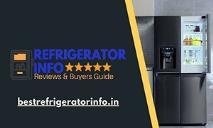Best Refrigerator info in India PowerPoint Presentation