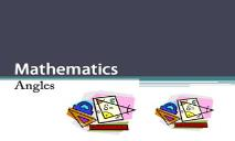 Maths Angles PowerPoint Presentation