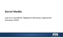 Social Media(National PTA) PowerPoint Presentation