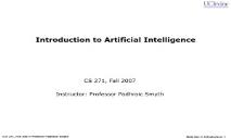 Introduction to Artificial Intelligence PowerPoint Presentation