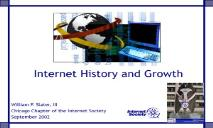 Internet History and Growth PowerPoint Presentation