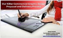 Our Killer Commercial Graphic Design Proposal and Delivery PowerPoint Presentation