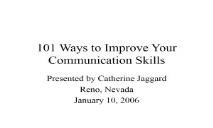 Communication Skills Library PowerPoint Presentation