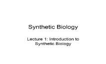Synthetic Biology (OpenWetWare) PowerPoint Presentation