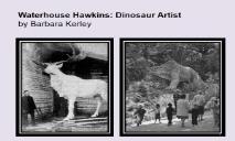 Waterhouse Hawkins Dinosaur Artist PowerPoint Presentation