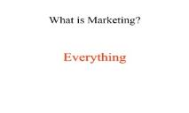 What is Marketing PowerPoint Presentation