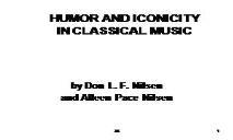 Music & Humor PowerPoint Presentation