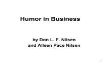 Humor business PowerPoint Presentation