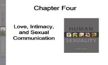 Love, Intimacy, and Sexual Communication PowerPoint Presentation