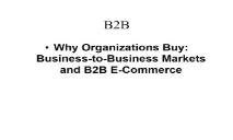 About B2B PowerPoint Presentation