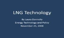 LNG Technology PowerPoint Presentation