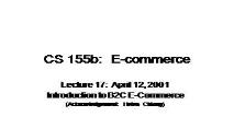 B2C E-COMMERCE PowerPoint Presentation