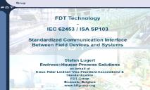 FDT Technology PowerPoint Presentation