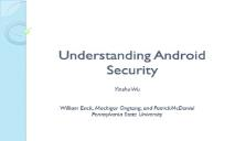 Understanding Android Security PowerPoint Presentation
