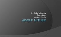 Adolf Hitler Wikispaces PowerPoint Presentation