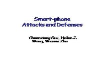 SmartPhone Attacks and Defenses PowerPoint Presentation