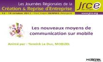 Les nouveaux moyens de communication sur smartphone PowerPoint Presentation