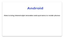 Android PowerPoint Presentation