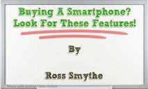 Buying A Smartphone PowerPoint Presentation