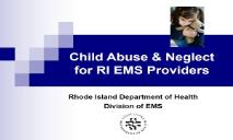 Child Abuse Neglect PowerPoint Presentation