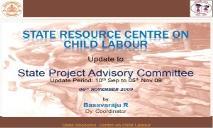 State Resource Centre on Child Labour PowerPoint Presentation