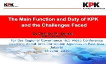 Corruption Fights Back PowerPoint Presentation