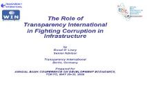 INSTRUMENTS FOR ADDRESSING PETTY CORRUPTION PowerPoint Presentation