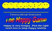 The Happy Game PowerPoint Presentation