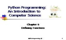 Programming An Introduction PowerPoint Presentation