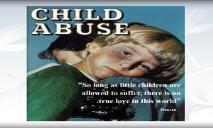 Child abuse (Victim Service Division) PowerPoint Presentation