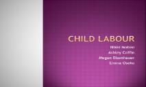 Child Labour Evil PowerPoint Presentation