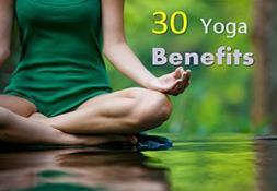 30 Yoga Benefits Powerpoint Presentation