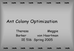 Learn Ant Colony Optimization PowerPoint Presentation