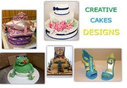 Creative Cake Designs PowerPoint Presentation