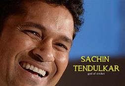 Sachin Tendulkar (God of cricket) PowerPoint Presentation