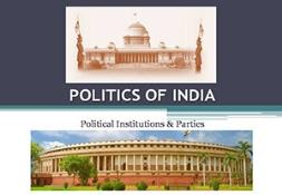 Politics of India Powerpoint Presentation
