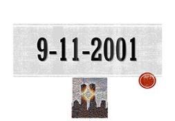 9-11 Attack PowerPoint Presentation