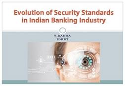 Evolution of Security Standards in Indian Banking PowerPoint Presentation