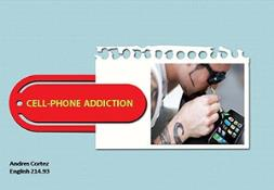Cell Phone Addiction or Mobile Addiction PowerPoint Presentation