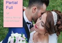 Partial or Full Wedding Planning PowerPoint Presentation