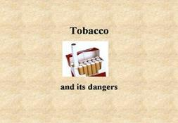 Tobacco And Diseases Powerpoint Presentation