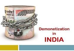Demonetization in India PowerPoint Presentation