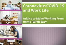Coronavirus COVID-19 and Work Life PowerPoint Presentation
